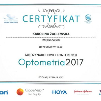 Optometria 2017