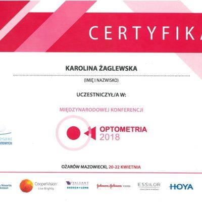 Optometria 2018